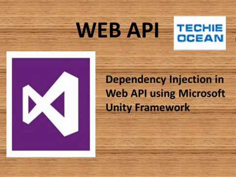 Dependency injection in ASP.NET Web API