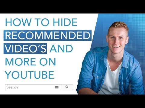 Hide Recommendations (And More) On Youtube