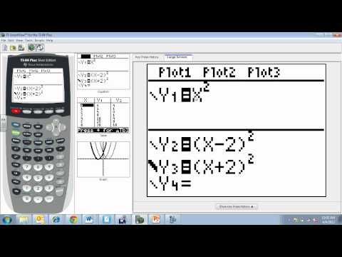 Vertex form- p and q value