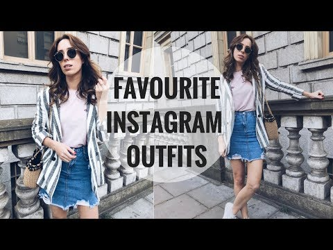 MY FAVOURITE INSTAGRAM OUTFITS 📸 MAY 2018 | CIARA O DOHERTY