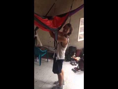 Hammock trick tutorial - flip into hammock
