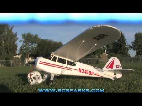 RC ADVENTURES - RC PLANES #1 - SUPER CUB - FIRST R/C AIRPLANE FLIGHT
