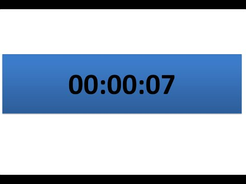 How to make countdown timer by using powerpoint vba