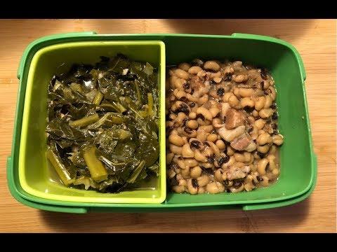 Instant Pot Black-Eyed Peas & Collard Greens