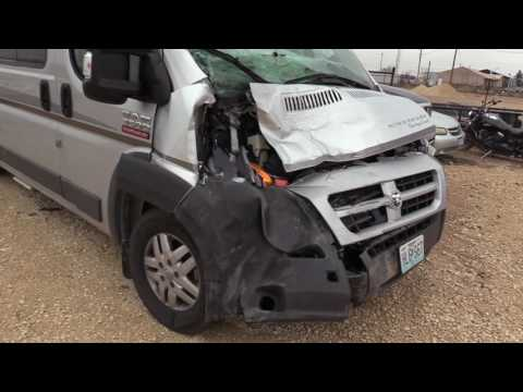 Winnebago Motorhome hits cow at 65 mph !! by Missouri Wind and Solar
