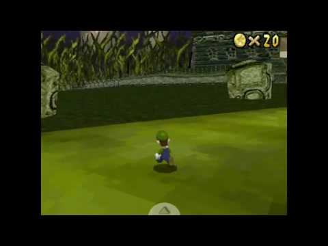 Super Mario 64 DS custom level: Mario kart DS Luigi's Mansion