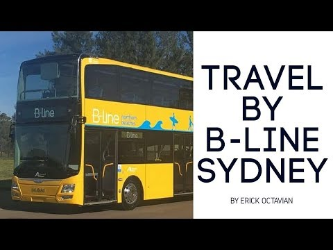 A NEW BUS | B-LINE SYDNEY | MONA VALE TO CITY | AMAZING VIEW