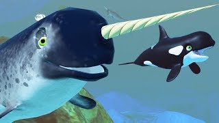 NEW NARWHAL! - Feed and Grow Fish - Part 80 | Pungence