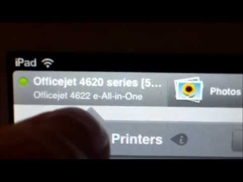 EASY WAY HOW TO PRINT FROM IPAD or TABLET on HP printer REVIEW