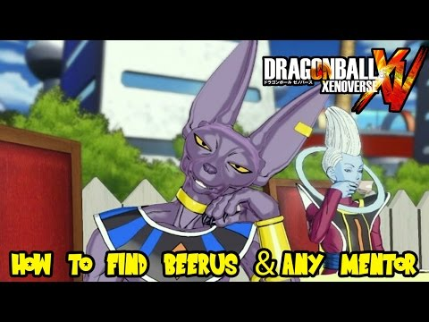 Dragon Ball Xenoverse: How To Find Beerus in Toki Toki City (or any Mentor)