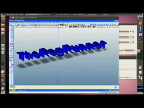 MegaCAD 2010 3D Text Demo