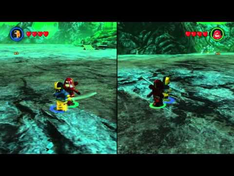 LEGO Batman 3 Arsenal Vs. Deathstroke sword trick!