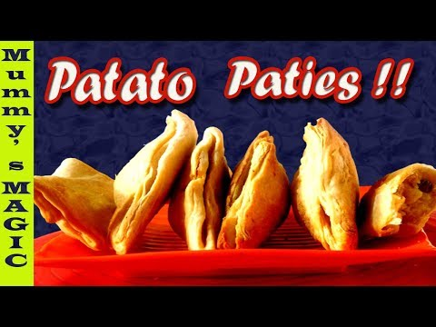 patties in microwave    aloo patties recipe in microwave   veggie puff pastry recipe   mummy's magic