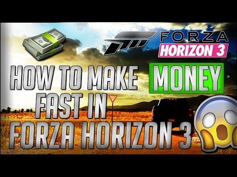 How to Make Money Fast in Forza Horizon 3! Money GLITCH? Fastest way! 2017!