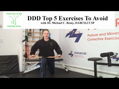 Degenerative Disc Disease The Top 5 Exercises To Avoid