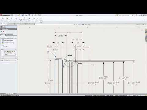 SolidWorks Detailed Dimensioning