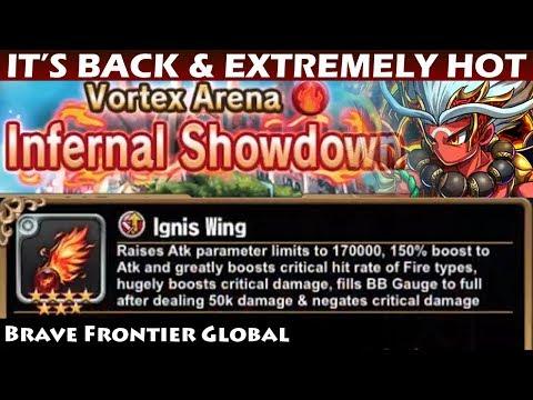 Infernal Showdown - Fire Vortex Arena (Brave Frontier Global)