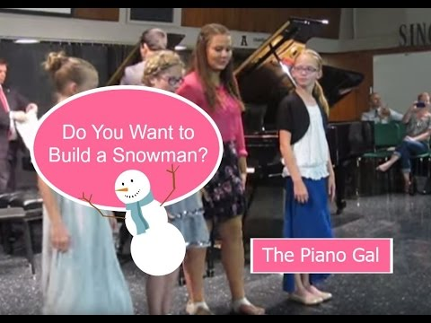 Do You Want to Build a Snowman - Disney's Frozen | Sara Arkell