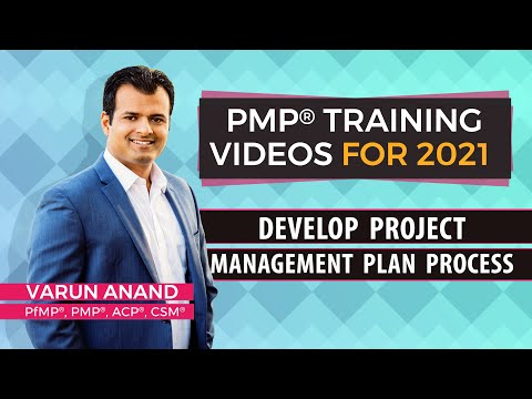 PMBOK 6 Edition Videos - Integration Management - Develop Project Management Plan Video -2 (2018)