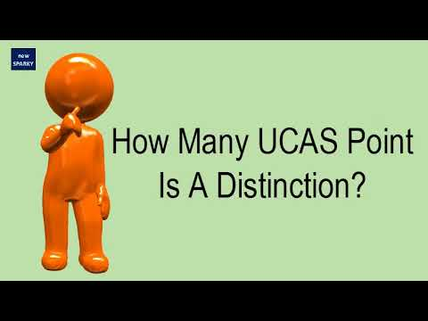 How Many UCAS Point Is A Distinction?