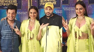 Watch Sonakshi Sinha's H0T Look With Badshah & Varun Sharma @KHANDANI SHAFAKHANA Promotion