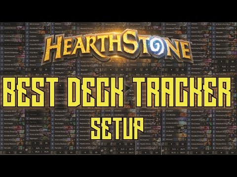 Hearthstone Deck Tracker Setup - Track Your Deck's Cards AND Your Stats!
