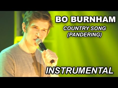 Bo Burnham - Country Song (Pandering) Instrumental