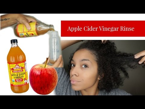 How To Do An Apple Cider Vinegar Rinse (ACV Rinse) On Your Hair   Mix + Benefits