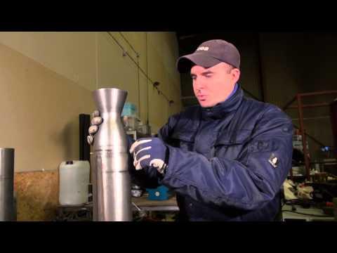 Assembling the BPM 5 - Bipropellant rocket engine