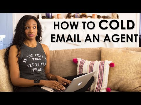How To COLD Email A Talent Agent or Manager! | Acting Resource Guru