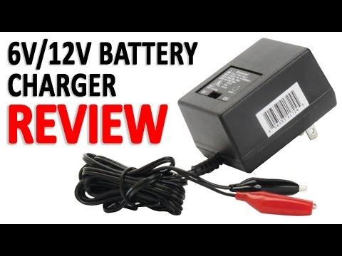 Generic 6v/12v Battery Charger Review (UPG D1724)