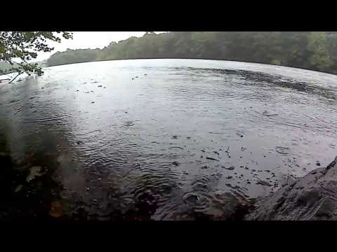 Bass Fishing during Hurricane Jose!?! - End of Summer Bassin'