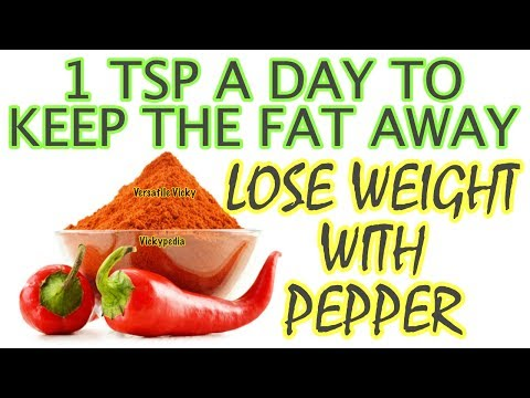 How to Burn Fat Faster at Home Naturally | Lose Belly Fat Fast with Cayenne Pepper