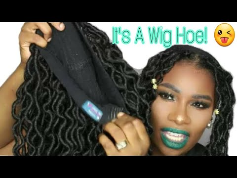 HOW TO: MAKE YOUR FAUX LOCS WIG LOOK MORE NATURAL! | ALICIA MOTLEY