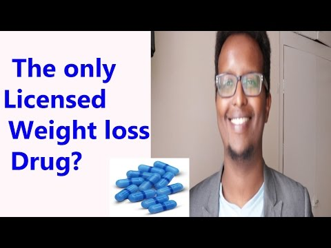 The best and only licensed medicine for weight loss -orlistat