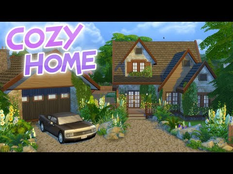 The Sims 4: COZY TRADITIONAL HOME | Speed Build (No CC)