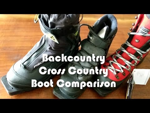 Backcountry Cross Country Boot Comparison