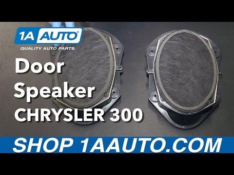 How to Install Replace Front Door Speaker 2006-10 Chrysler 300