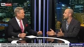 Leith van Onselen talks mass immigration on The Bolt Report