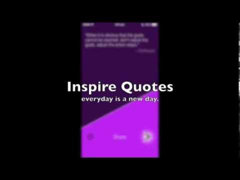Inspire Quotes App on iOS for iPhone & iPad