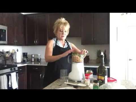 Jalapeño Cilantro Hummus!