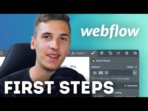 Webflow: First Steps & Impressions • Webflow Tutorial