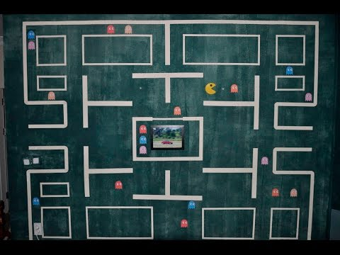 Pacman wall design