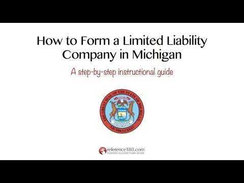How to Form an LLC in Michigan