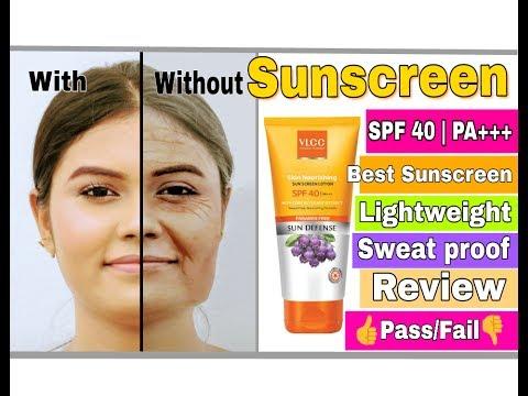 VLCC Skin Nourishing Sunscreen Lotion || SPF 40 || Best Sunscreen in indian Market