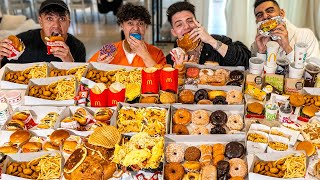 Who Can Eat The Most Food Challenge - 100,000 Calories