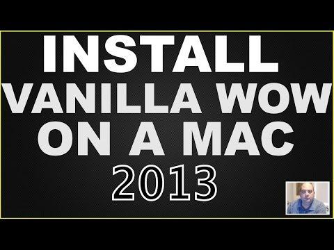 Play Vanilla WOW on a Mac (2013)