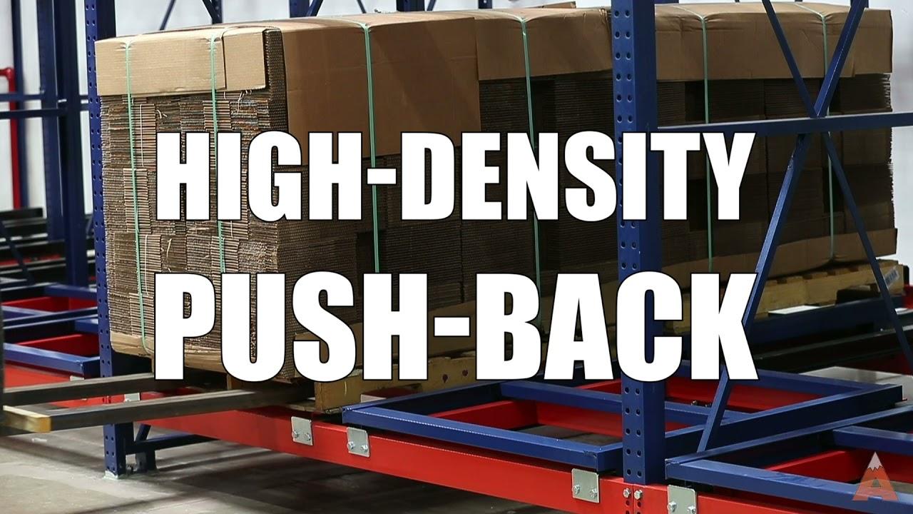 Push-Back Pallet Storage Rack | Apex Companies