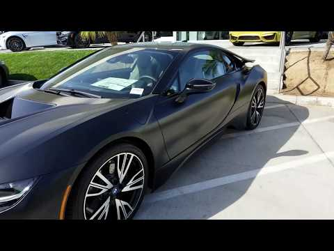 BMW DEALERSHIP 2018 BMW 760I v12  2017 BMW I8 and 2018 M4