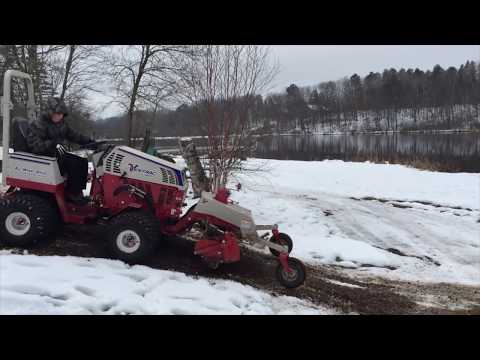 Stanley the Dirt Monkey and the Ventrac 4500 Z Compact Tractor